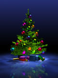 Christmas tree. Stock Image