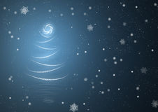 Christmas Tree Abstract Background Stock Photos