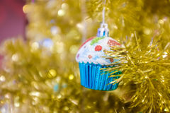 Christmas tree abstract background Royalty Free Stock Images