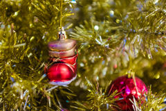 Christmas tree abstract background Stock Photography