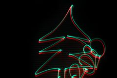 Christmas tree 2020. Abstract background. Red and green royalty free stock image