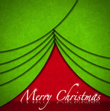 Christmas Tree Abstract Background Stock Photo