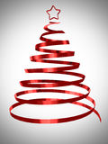 Christmas tree abstract design Stock Image