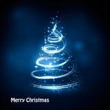 Christmas tree abstract Stock Photo