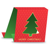 Christmas tree. Abstract christmas tree.vector illustration Royalty Free Stock Photos
