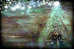 Christmas Tree and Ange Stock Photography