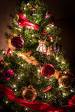 Christmas Tree with Angel 1. This is a Christmas Tree with colorful decorations Stock Image