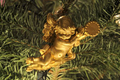 Christmas tree Angel ornament Stock Image