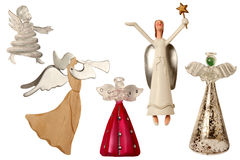 Christmas tree angels Royalty Free Stock Photos
