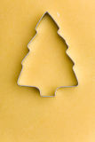 Christmas tree as cookie cutter Stock Photo