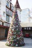 The Christmas tree Royalty Free Stock Image