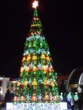 Christmas tree in Astana Royalty Free Stock Photo