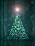 Christmas tree background Royalty Free Stock Photography