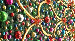 Christmas tree background Royalty Free Stock Image