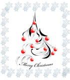 Christmas tree background Royalty Free Stock Photo