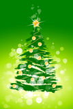 Christmas tree background Royalty Free Stock Images