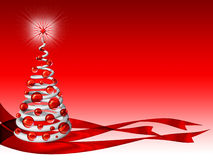Christmas Tree Background 2. An abstract 3D christmas Tree Stock Photography