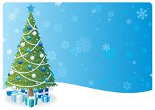 Christmas Tree Background 2 Royalty Free Stock Photo