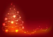 Christmas Tree Background. Stock Image