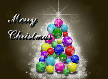 Christmas tree background. Stock Photography