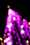 Christmas Tree Background. Out of focus Christmas Tree Background - great colors Stock Photo