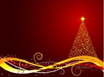 Christmas tree background Stock Photo