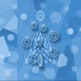 Christmas tree background Royalty Free Stock Photos