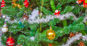Christmas tree background Card Design Royalty Free Stock Images