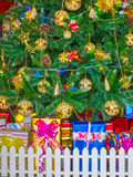 Christmas tree background Card Design Royalty Free Stock Photography