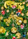 Christmas tree background Card Design Royalty Free Stock Photos