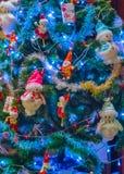 Christmas tree background Card Design Stock Photo