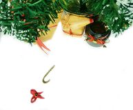 Christmas tree background. stock images