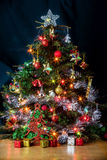 Christmas tree background. Royalty Free Stock Image