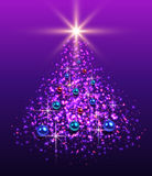Christmas tree background. Royalty Free Stock Photography