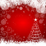 Christmas Tree Background - Illustration Stock Photos
