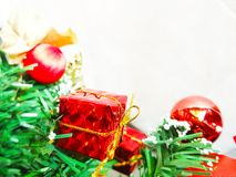 Christmas tree background. royalty free stock photos