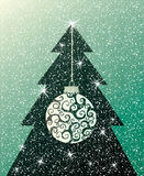 Christmas tree background New Year Royalty Free Stock Photo