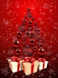 Christmas tree background. Royalty Free Stock Photo