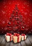 Christmas tree background. Stock Photo