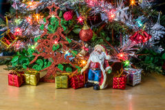 Christmas tree background. Stock Photo