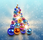 Christmas tree background. Stock Photos