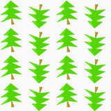 Christmas tree. A background with a traditional Christmas tree vector illustration