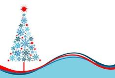 Christmas tree background, vector Stock Photos