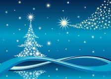 Christmas tree background, vector vector illustration