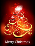 Christmas tree background Stock Photo