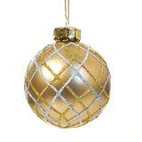 Christmas tree ball. Christmas tree decoration ball on white background Royalty Free Stock Image