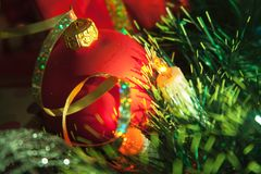 Christmas tree ball Stock Photo