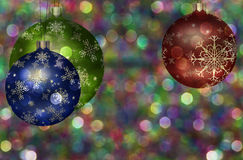 Christmas Tree Ball Illustration Stock Images