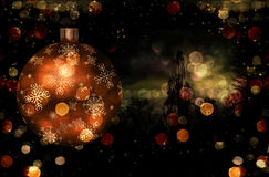 Christmas Tree Ball Illustration Stock Photos