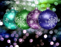 Christmas Tree Ball Illustration Stock Image
